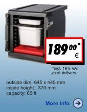 Thermobox Frontlader 65 liter