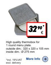Thermobox Tellerbox